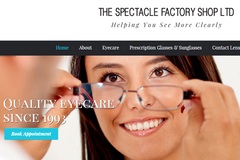 Spectacle Factory Shop Page