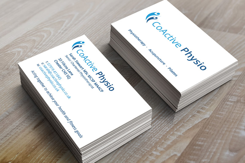 Physiotherapist Business Card Design