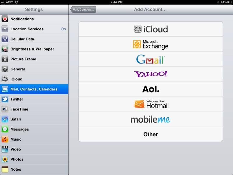 How to set up a POP email account on your iPad