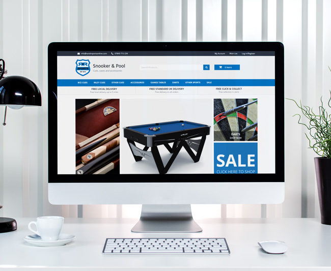 Ecommerce Website Design Rossendale