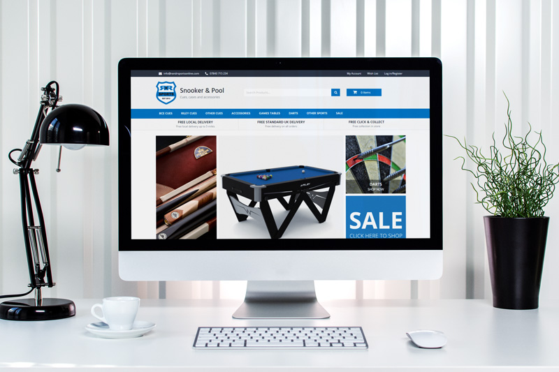 Ecommerce Website Design Chester