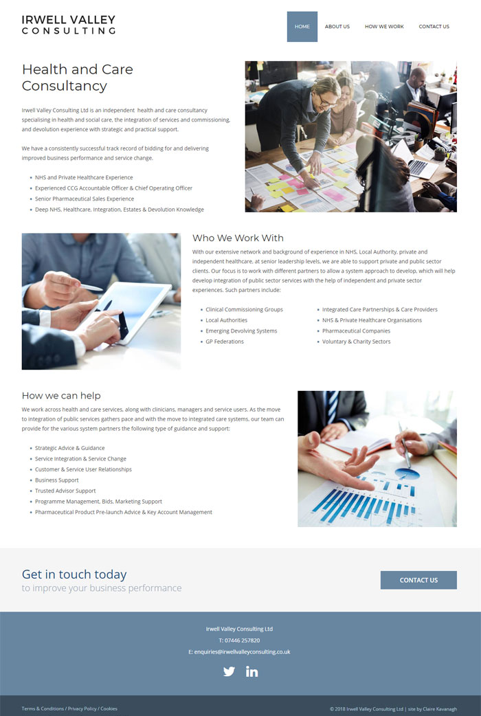 Healthcare Website Design Chester